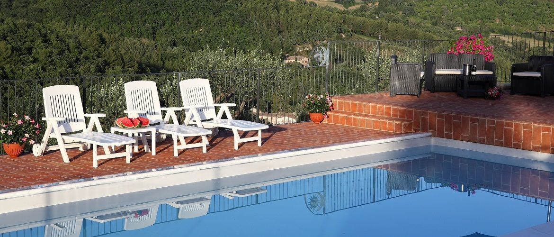 Residence pool Assisi